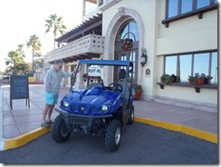La Mision Hotel Loreto ATV rental  with Mark RBuchanan photo