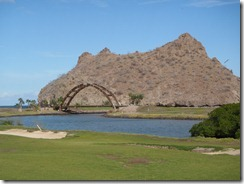 Loreto Bay Golf hole with bridge Loreto Mexico RBuchanan photo