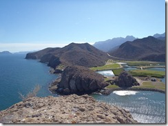 Loreto Bay Golf overview to signature Loreto Mexico RBuchanan photo
