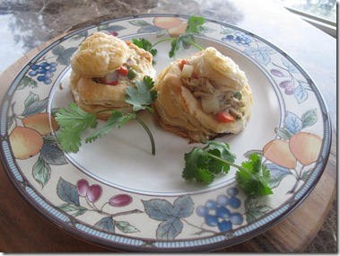 RBuchanan photo Chicken Pot Pie in Puff Pastry Shell