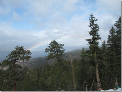 RBuchanan photo March 15 rainbow over Naramata Bench