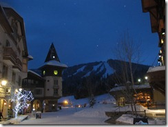 RBuchanan Sun Peaks village winter night IMG_1038