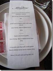 RBuchanan OOOysterFest Miradoro menu 1  IMG_5003
